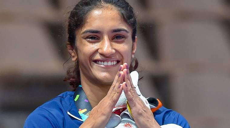 Vinesh Phogat, Vinesh Phogat gold, Vinesh Phogat Asian Games gold, Asian games 2018,