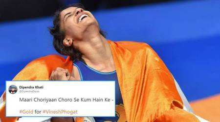 Asian Games 2018: Vinesh Phogat's gold sparks a whole lot of Dangal-related tweets