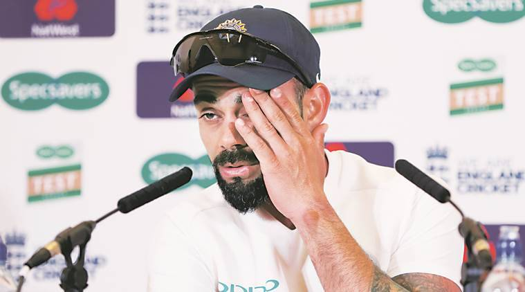 Indian batting comes good as Kohli, Rahane take charge