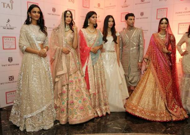 Vogue Wedding Show 2018, Sabyasachi bridal designs, Manish Malhotra bridal designs, Tarun Tahiliani bridal designs, Anita Dongre bridal designs, indian express, indian express news