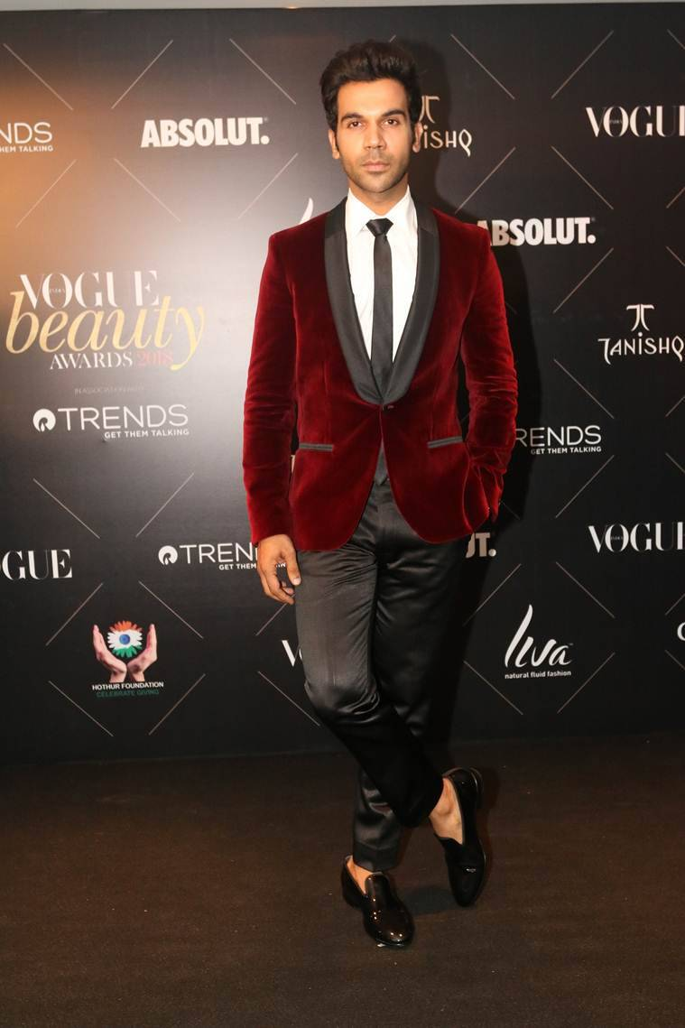 rajkummar rao at Vogue Beauty Awards 2018