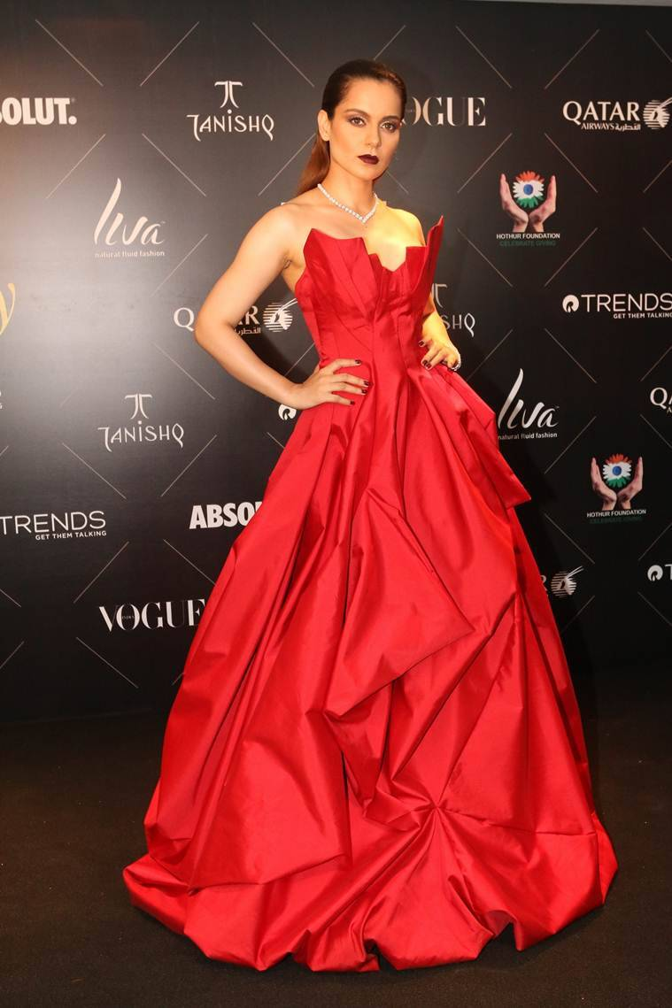 kangana ranaut at Vogue Beauty Awards