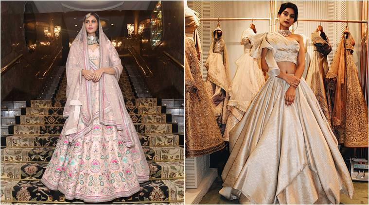 Bride fashion tips, Falguni and Shane Peacock bride tips, Shyamal and Bhumika bride tips, Sunita Shekhawat jewellery trends for wedding brides, Rahul Mishra bride tips, indian express, indian express news