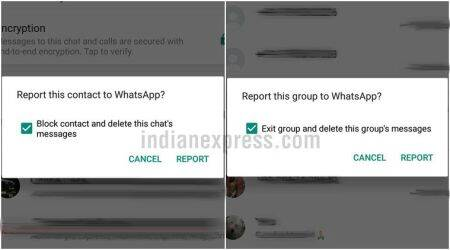 WhatsApp Android beta update: Report contact features gets revamped