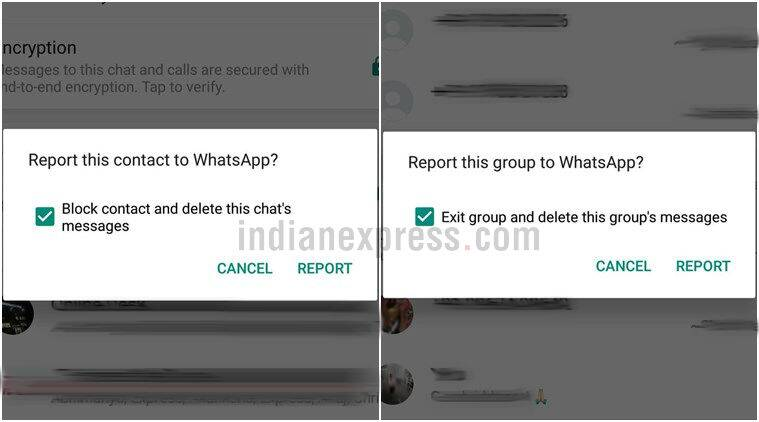 WhatsApp, WhatsApp update, WhatsApp new feature, WhatsApp feature, WhatsApp report tab, WhatsApp block chats, WhatsApp new report tab