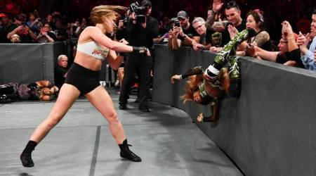 WWE Raw Results: Ronda Rousey routs Alicia Fox on debut