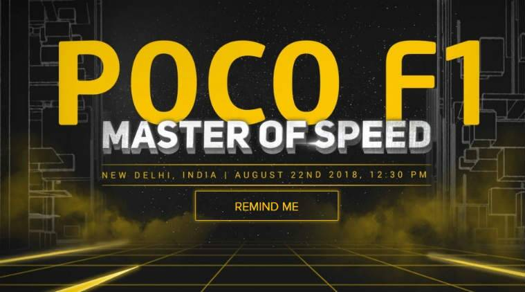 Xiaomi's Pocophone Poco F1 launch in India today: Livestream timings, expected price, specifications