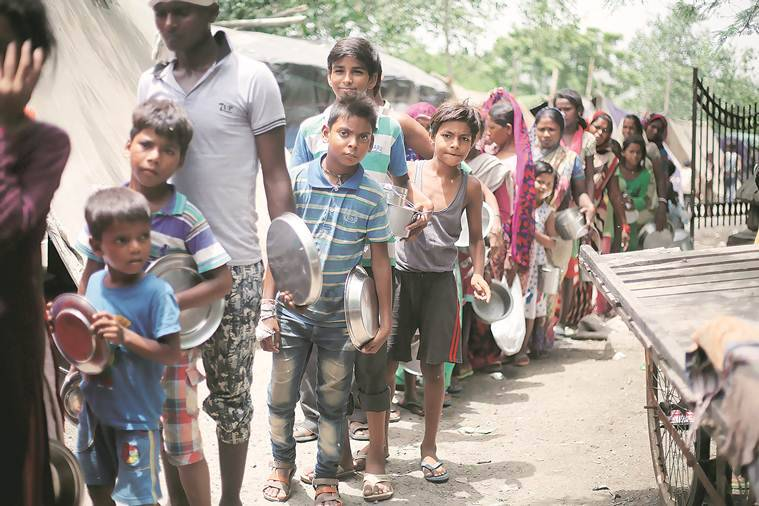 yamuna on flood alert, relief camps set up