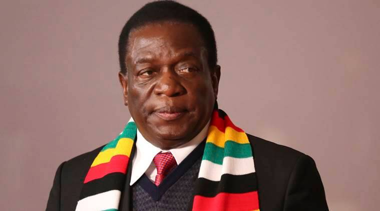 Zimbabwe's opposition members of parliament walk out on Mnangagwa address