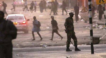 Three killed as Zimbabwe troops, protesters clash aftervote