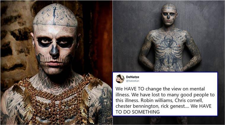 Canadian model Zombie Boy, featured in Lady Gaga video, dies
