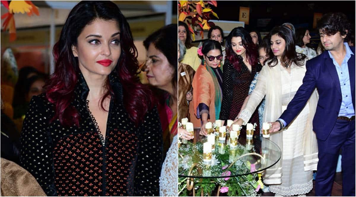 Aishwarya Rai Bachchan Roots For Women Empowerment At 31st Women Entrepreneur S Exhibition Entertainment News The Indian Express