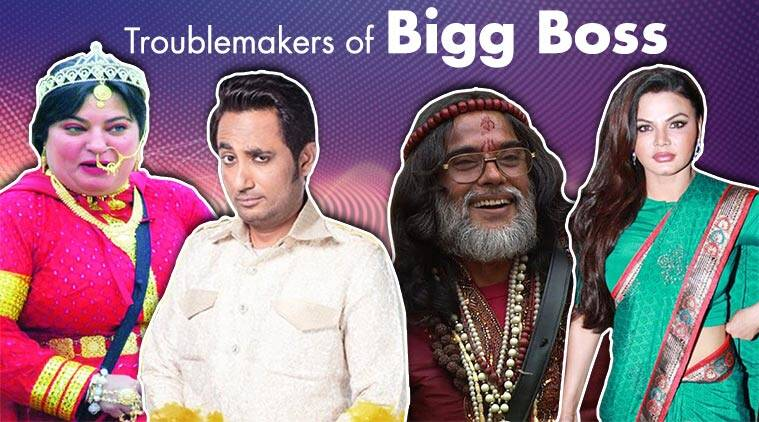 troublemakers of Bigg Boss