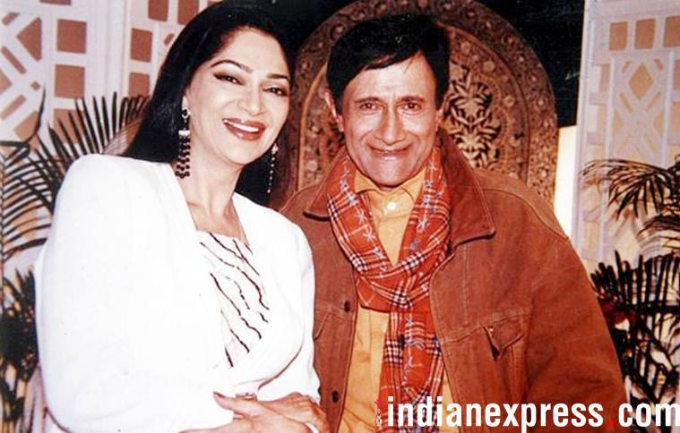 simi garewal and dev anand
