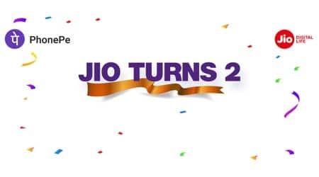 Jio offers Rs 100 cashback on popular prepaid plans via PhonePe transaction