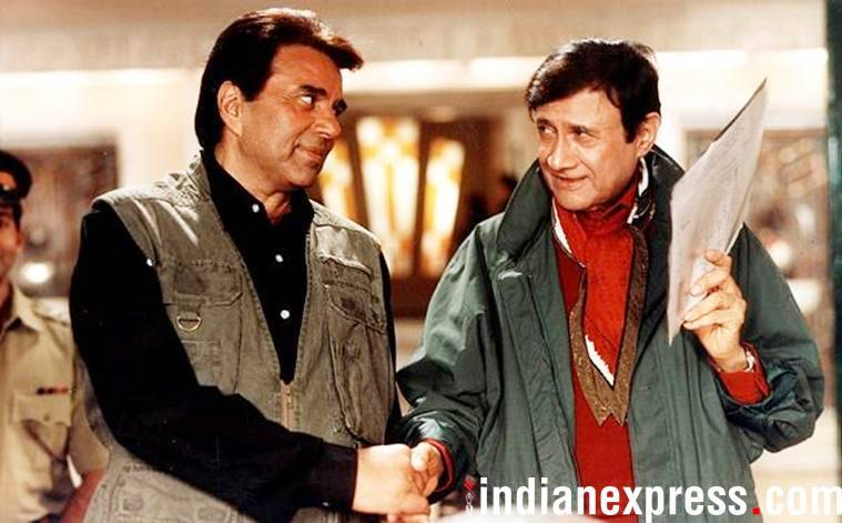 dharmendra and dev anand