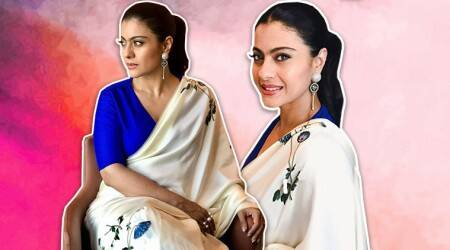 Kajol gives lessons on how to keep things simple yet classy in asari