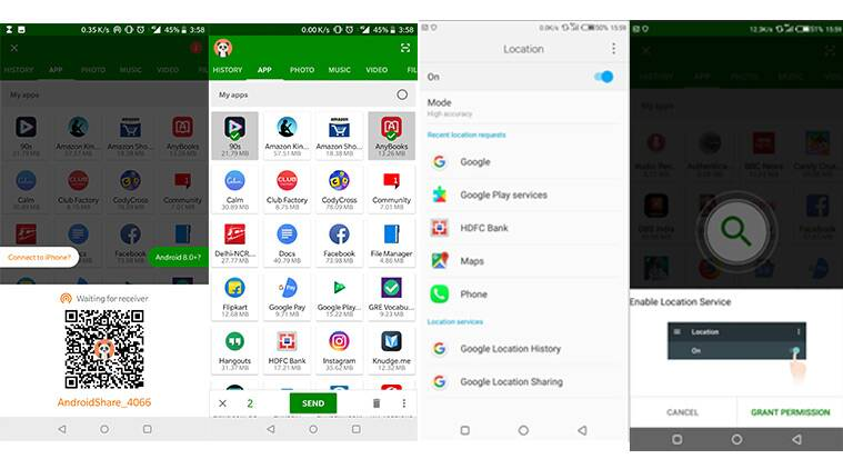 How to use Xender to transfer files on Android, iPhone and