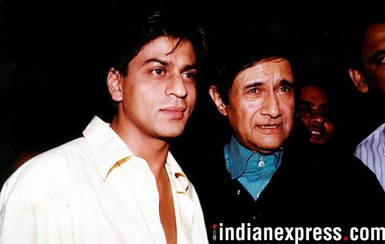 shah rukh khan and dev anand