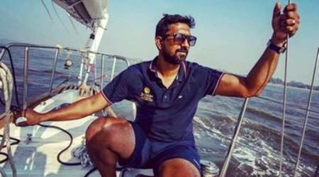 Abhilash Tomy, Abhilash Tomy rescue., golden globe race, Abhilash Tomy Golden globe race, golden globe race 2018, who is Abhilash Tomy, Abhilash Tomy news, India news, Indian Express