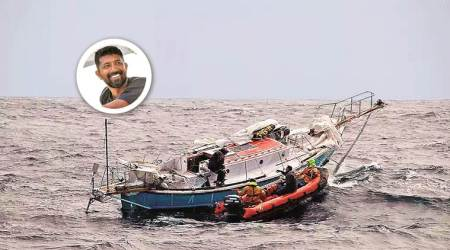 What is the race that Commander Abhilash Tomy entered?