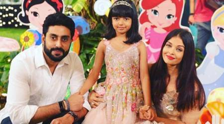 Abhishek Bachchan on Aaradhya seeing her parents together in Gulab Jamun: She'll be fine