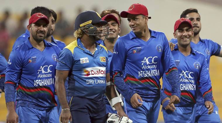 Afghanistan bowl against Sri Lanka in World Cup