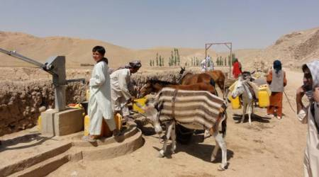 More Afghans displaced by drought than conflict, says UN