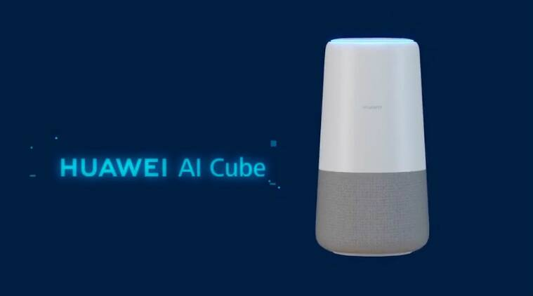 IFA 2018, Huawei AI Cube, IFA 2018 AI Cube, AI Cube features, Huawei digital speakers, AI Cube specifications, Huawei network devices, AI Cube expected launch, Huawei network gear, Huawei news