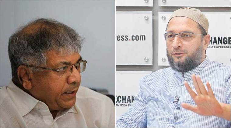 Owaisi's AIMIM, Ambedkar's BBM to tie up for 2019 polls