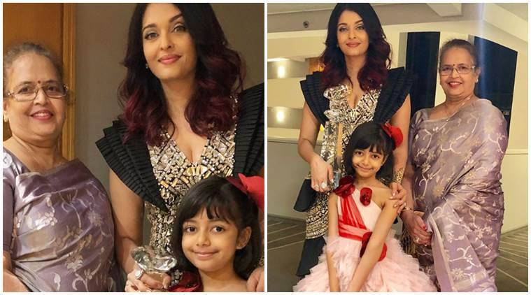 aishwarya, mother, daughter