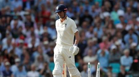 England's Alastair Cook looks dejected as he walks off after being bowled out by India's Jasprit Bumrah
