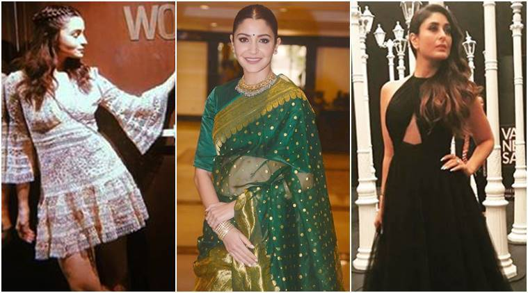 Alia Bhatt, Anushka Sharma, Kareena Kapoor Khan, Madhuri Dixit, Kajol, Shraddha Kapoor, Tamannaah Bhatia, Shilpa Shetty, celeb fashion, bollywood fashion, indian express, indian express news