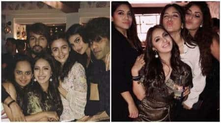 Inside Akansha Ranjan's birthday bash: Alia Bhatt, Neha Dhupia and Kartik Aaryan inattendance