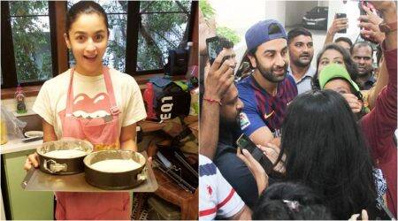 Ranbir Kapoor rings in birthday with friends, fans and Alia Bhatt