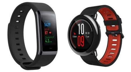 Huami, Amazfit Pace launch, Amazfit Cor launch, Amazfit Pace price in India, Huami fitness trackers, Amazfit Cor India price, Amazfit Pace specifications, Mi Band, Amazfit Cor specifications, Amazfit smartwatches