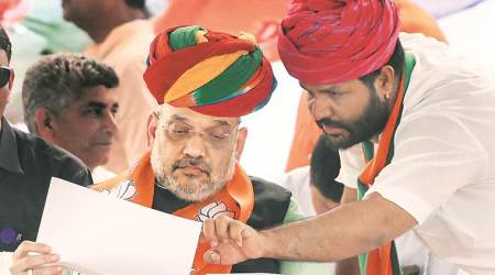 BJP not a party of any single caste or community: Amit Shah in Rajasthan