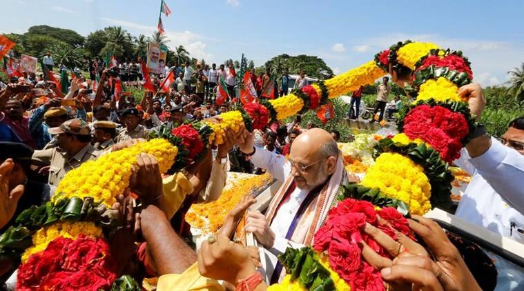 BJD, Opposition suffering from 'Modi-phobia': Amit Shah in Odisha