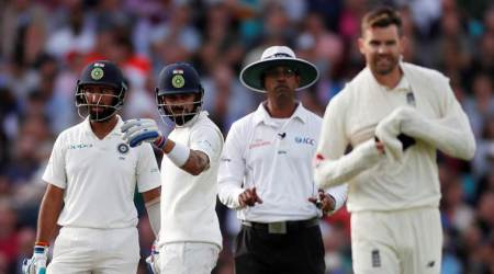 India vs England: James Anderson gets demerit point fordissent