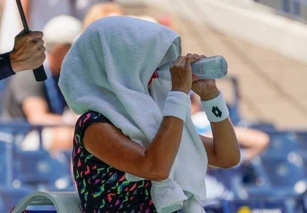 US Open 2018: Soaring temperature and humidity beat players