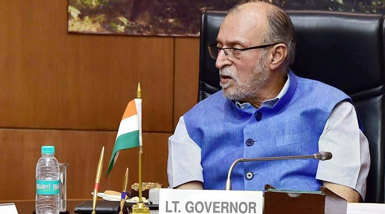 Delhi: L-G Baijal presses on need to bolster security