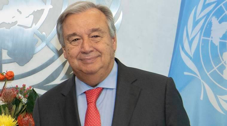 UN chief Antonio Guterres to visit India in October