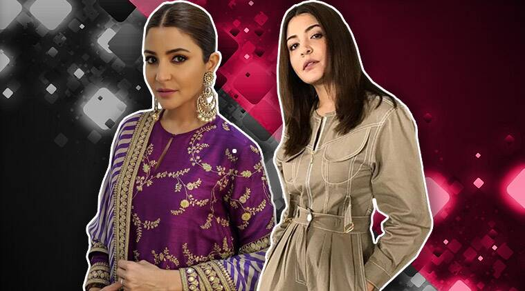 anushka sharma, sui dhaaga promotions, anushka sharma photos, sabyasachi mukherjee, anushka sharma sabyasachi, anushka sharma updates, anushka sharma latest news, celeb fashion, bollywood fashion, indian express, indian express news