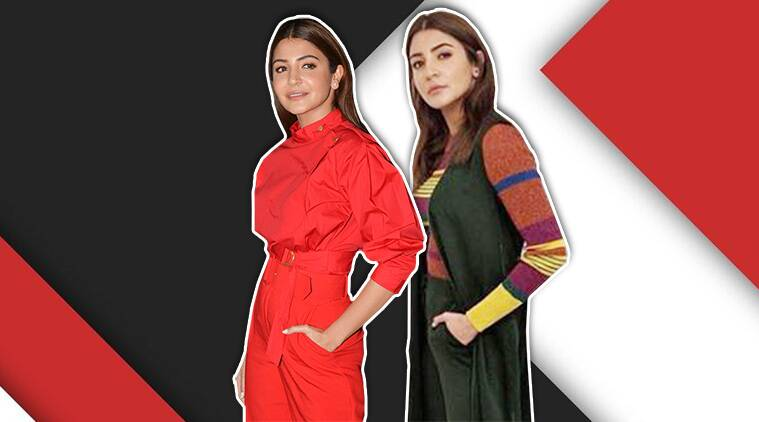 Anushka Sharma, Varun Dhawan, Sui Dhaaga, Sui Dhaaga promotions, Anushka Sharma updates, Anushka Sharma latest pictures, Anushka Sharma latest photos, Anushka Sharma sui dhaaga promotions, celeb fashion, bollywood fashion, indian express, indian express news