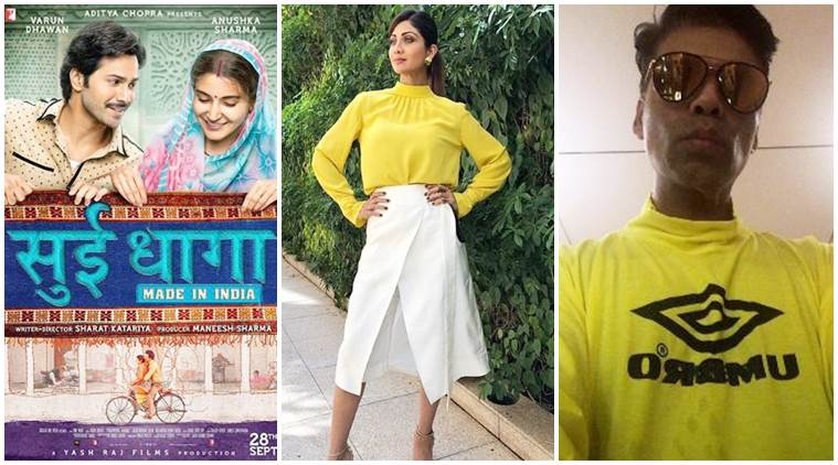 Anushka Sharma, Shilpa Shetty and Karan Johar social media photo monday posts