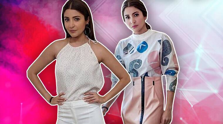 anushka sharma, anushka sharma latest looks, anushka sharma sui dhaaga promotions, indian express, indian express news