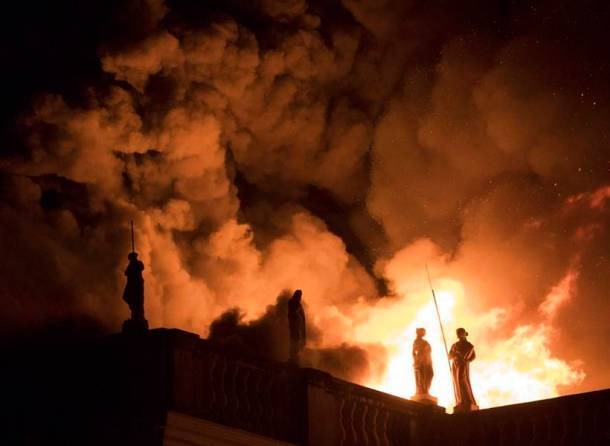 Fire in Brazil museum destroys priceless artifacts from over 11,000 years