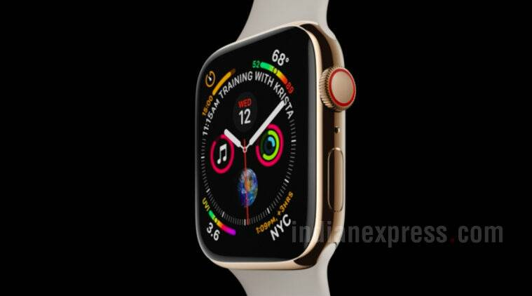 ab765b240d06 Apple Watch Series 4 with bezel-less display