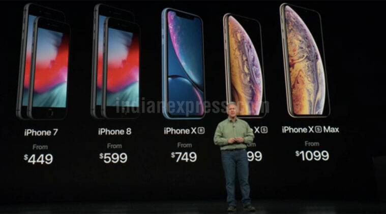 Iphone Xs Iphone Xs Max And Iphone Xr To Iphone 6s Full List Of