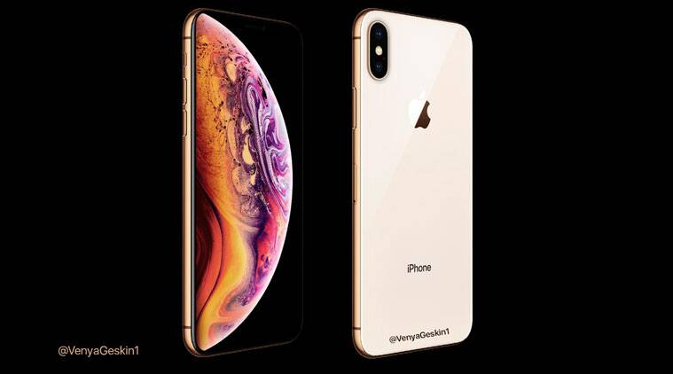 finest selection e816c 5db71 Apple iPhone XS new leaked image shows off gold colour option ...